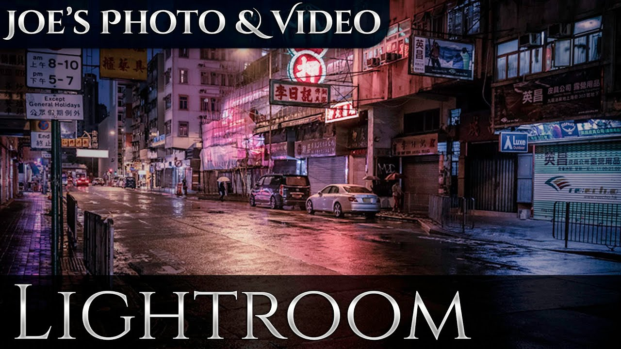 Cinematic Color Toning & Street Photography | Lightroom 6 & CC Tutorial