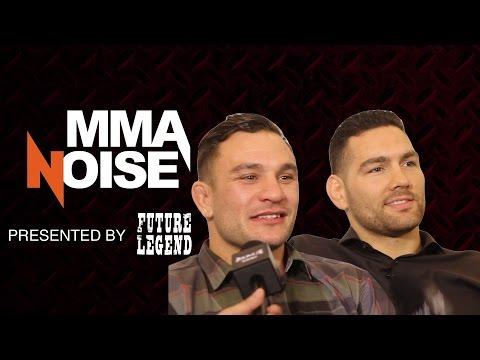Chris Weidman & Gian Villante Talk Body Hair, Sweat & Abs - MMA Noise
