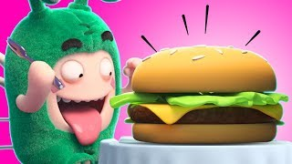 Oddbods | TASTY BURGER! | Funny Cartoons for Children by Oddbods & Friends