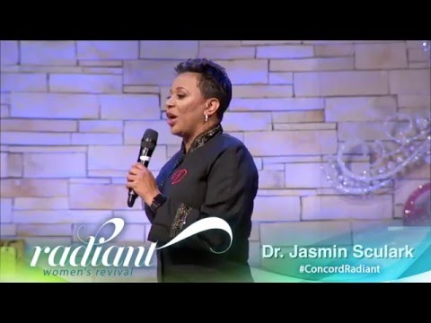 Dr Jasmin Sculark at Concord Church Women's Revival