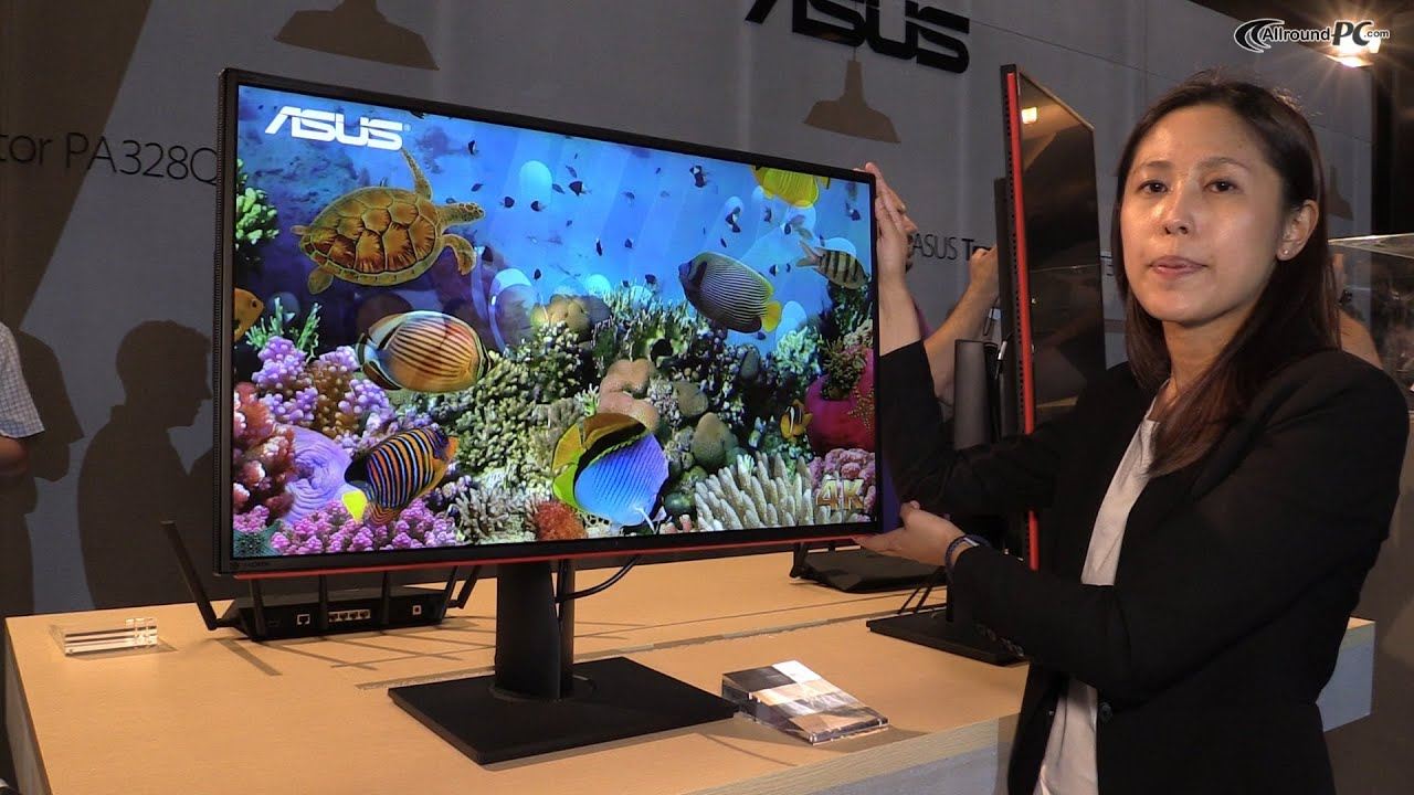 Computex 2014 Asus Proart Pa328q 4k Uhd Monitor Youtube