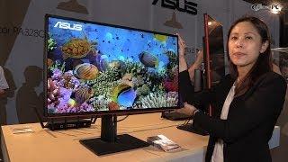 computex 2014 asus proart pa328q 4k uhd monitor
