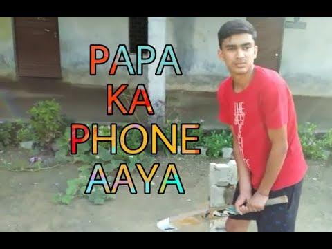 Papa Ka Phone Aya  Funny Comedy Vines  By Yash Chhabra