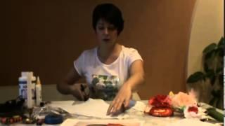 Цветы из ткани для начинающих. Мастер класс роза из ткани (handmade)(Бесплатно - 15 видео мастер-классов по созданию цветов из ткани. Посмотрите на сайте: http://master.masterclass2.ru/ Мастер..., 2013-01-06T10:37:42.000Z)