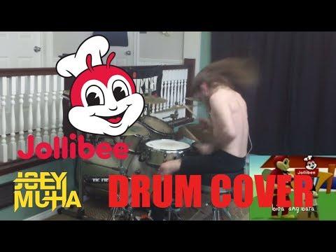 Jollibee Song and Dance w/ METAL DRUMMING! - JOEY MUHA