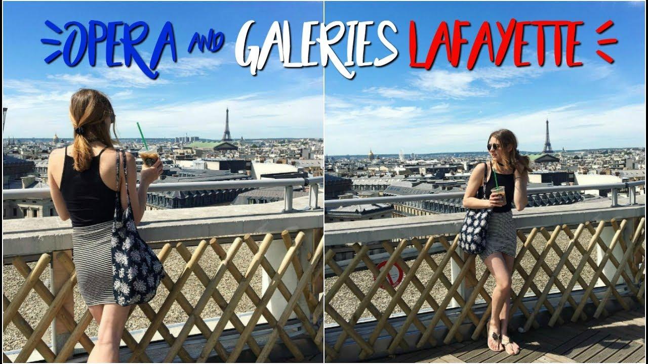 OPERA & GALERIES LAFAYETTE | Paryż z Julka odc.3