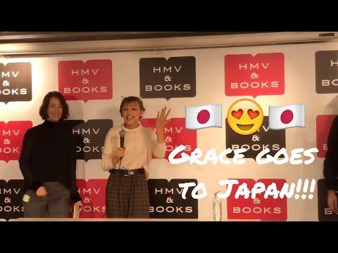 Grace goes to Japan Nov 25 2017! - Social Media Clips [MEGA VIDEO]