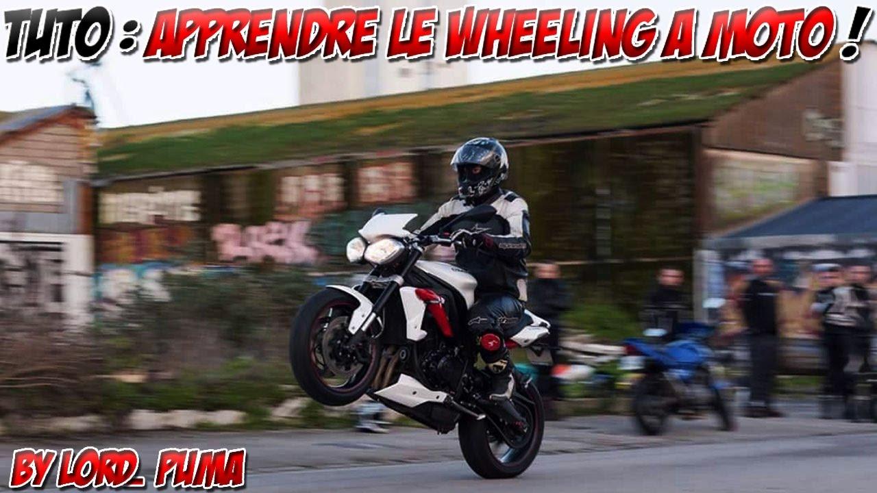Accessoire wheeling moto