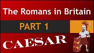 KS2 History The Romans In Britain PART 1 Julius Caesar