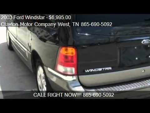 2003 ford windstar limited for sale in knoxville tn for Clayton motor co west knoxville tn
