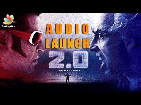 2.0 Audio Launch Dubai : Highlights   Superstar Rajinikanth, Amy Jackson, Shankar Hot News