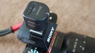 Sony ECM W1M Bluetooth Wireless Microphone System
