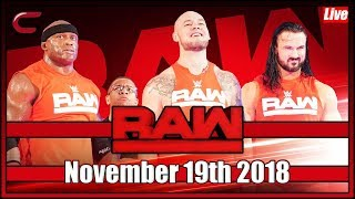 WWE RAW Live Stream Full Show November 5th 2018: Live Reaction Conman167