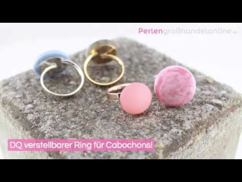 DIY: DQ verstellbarer Ring für Polaris Cabochon