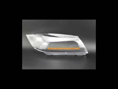 BMW 3Series E90 E91 Xenon Headlight Plastic Lens Cover HID Headlamp Lenses Covers