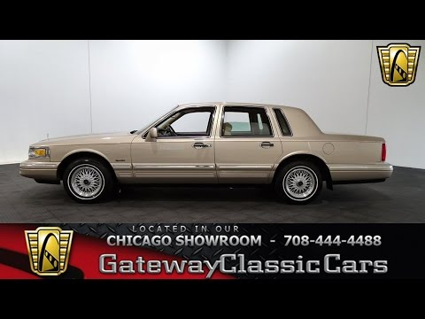 1997 Lincoln Town Car Gateway Classic Cars Chicago #1200