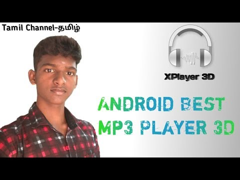 Best Android App XPlayer 3D MP3 Player in Tamil