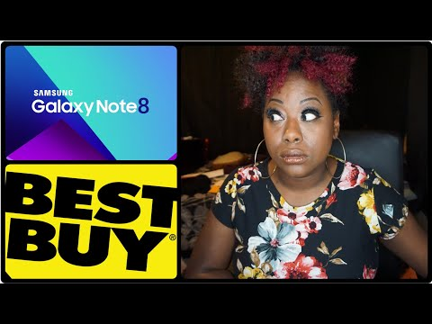 video blog:  preordered the Galaxy Note 8 with Best Buy and i'm mad.