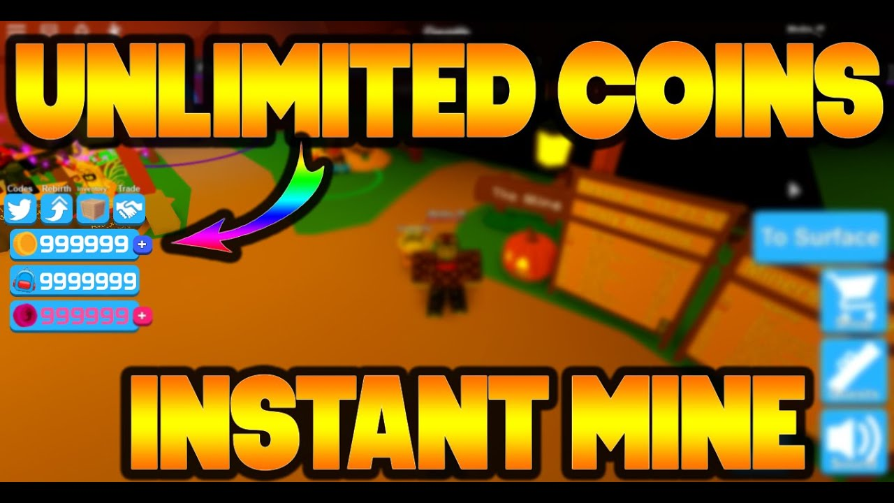 Mining Simulator Roblox Hack Script Instan Mine Nuke Aura