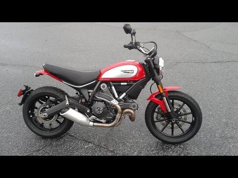 2015 Ducati Scrambler Icon In Red