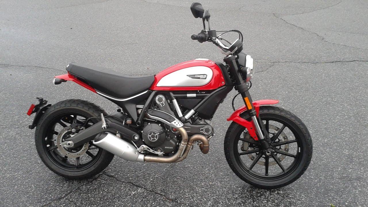 Ducati Scrambler Red Icon