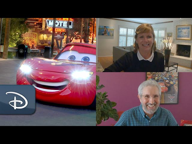 Take a Ride Through the Making of Cars Land! | #DisneyMagicMoments