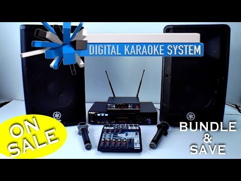 Digital Karaoke System | Professional Karaoke Mixer | PearlRidge Wireless Mics ✅800-557-SING