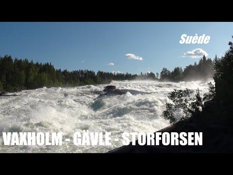 Vaxholm Gävle Storforsen Örnsköldsvik - SUEDE 4/5