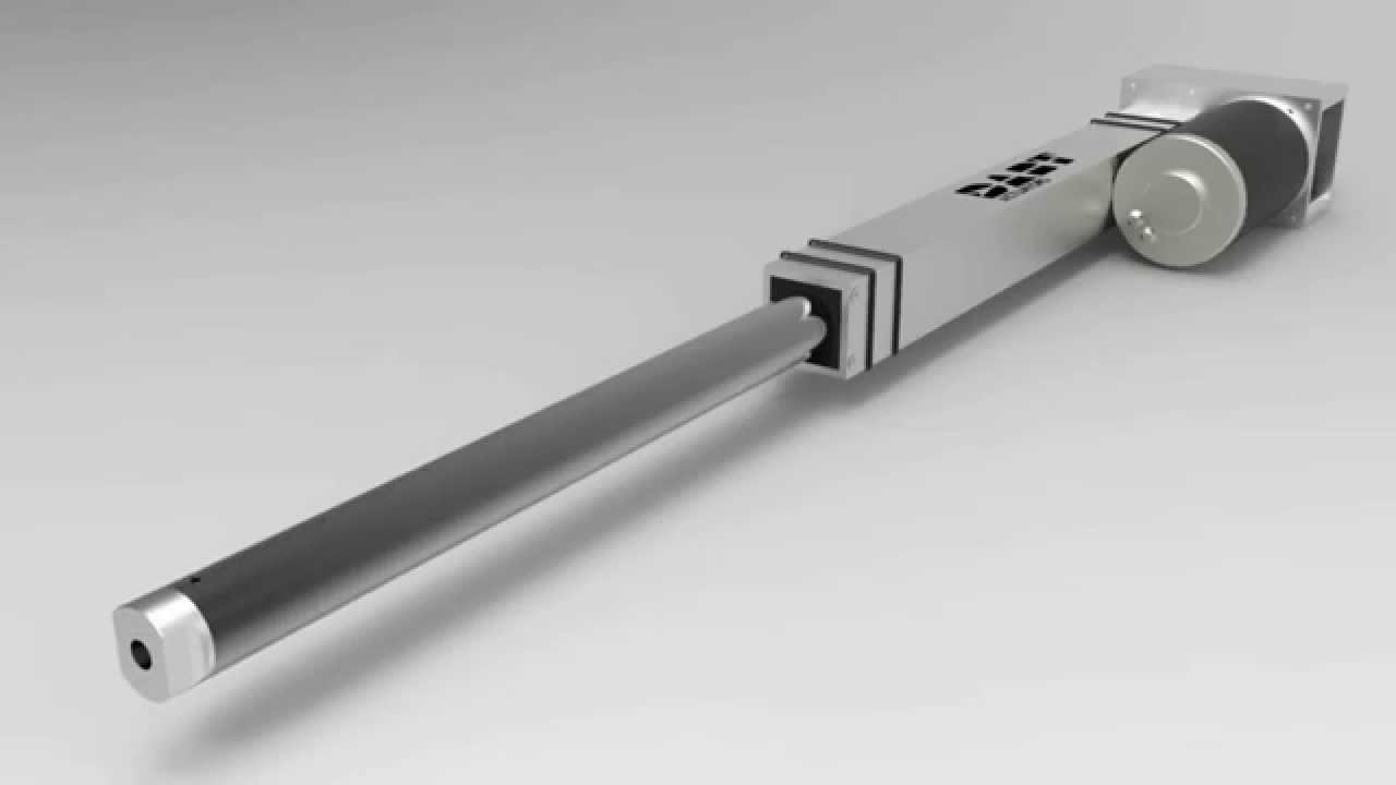 The Dart Actuator By Ir3 The Cim Linear Actuator Youtube