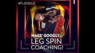 Kirkett Lessons with Mr. Nags | Leg Spin | VIVO IPL 2018