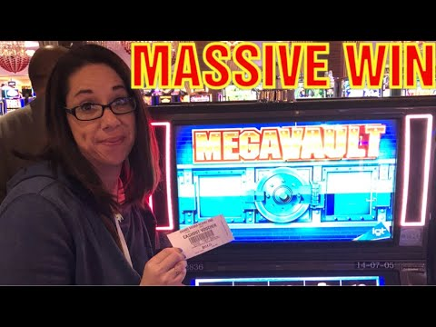 MASSIVE MEGA VAULT WIN * BUFFALO GOLD * WONDER 4 BONUS WHEEL *