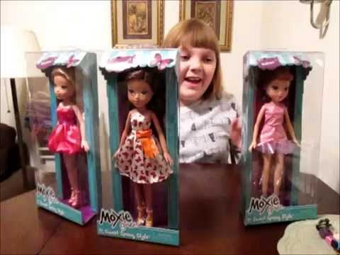 Moxie Girlz Sweet Spring Style Dolls Unboxing Review Youtube
