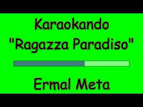Karaoke Italiano - Ragazza Paradiso - Ermal Meta ( Testo )