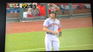 Hunter Pence Getting Back 2 Back Hits