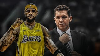 LeBron James SETTING Luke Walton UP To Be FIRED?!!!