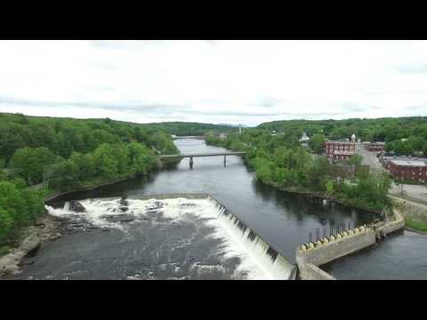 Livermore Falls, ME by Drone