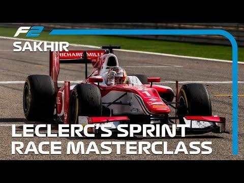 Charles Leclerc's Sprint Race Masterclass | Formula 2 Bahrain 2017