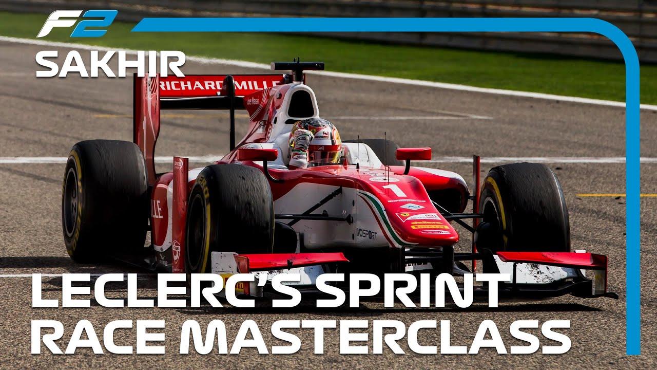 Download Charles Leclerc's Sprint Race Masterclass   Formula 2 Bahrain 2017