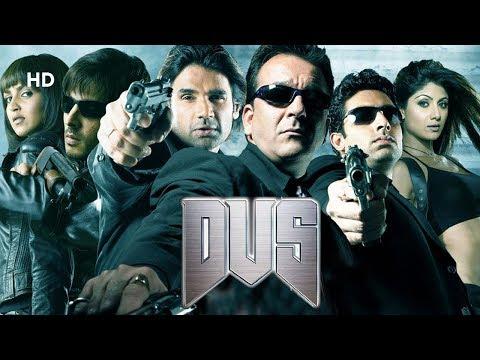 Dus (HD) | Sanjay Dutt | Abhishek Bachchan | Shilpa Shetty | Full Blockbuster Movie