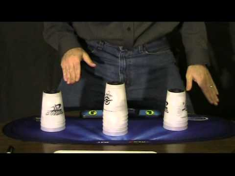 Cup Stacking Speed Stack How To