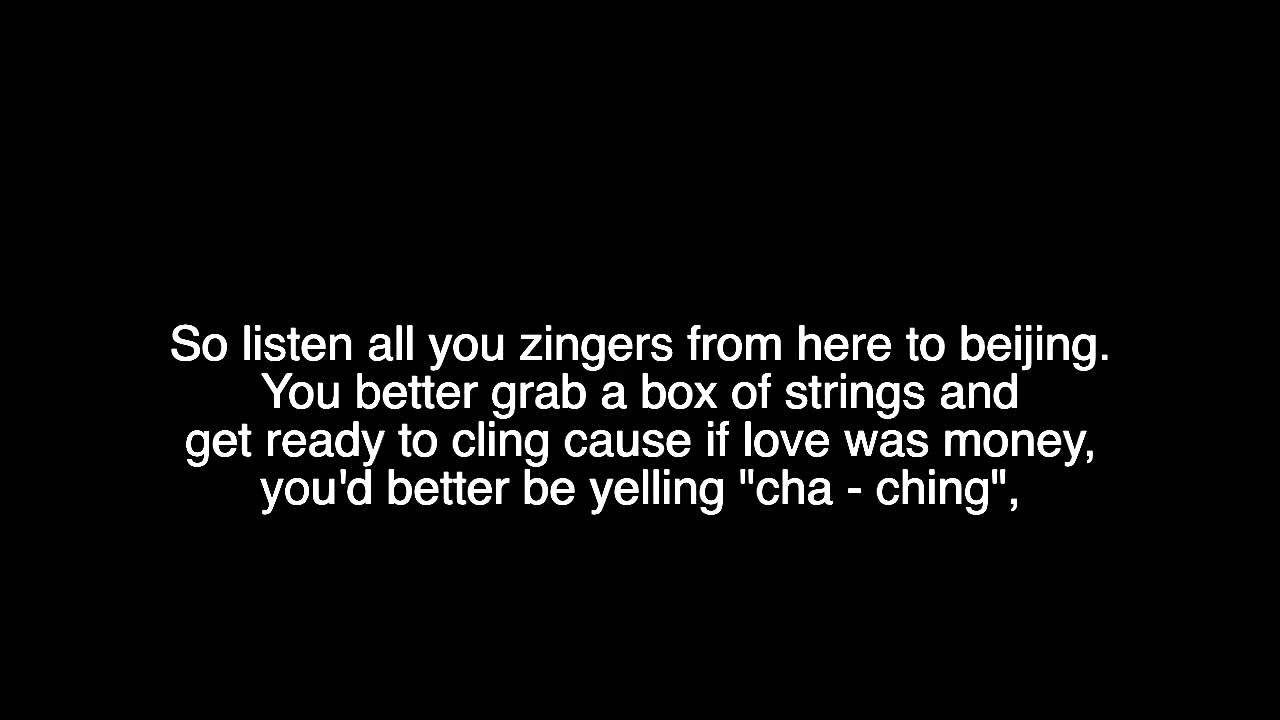 zing meaning love