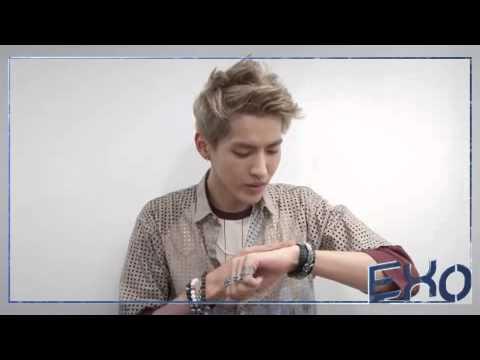 dodolpop EXO Kris Video alarm Morning call (Chinese Ver)