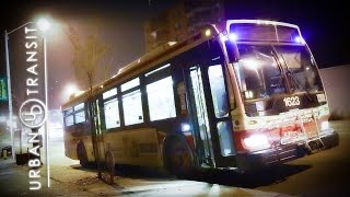 Hybrid Bus Engine Startup & Floored Gas Pedal