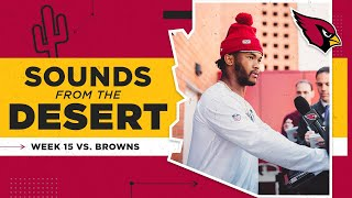 Murray On Playing Against Baker Mayfield: 'It's Going To Be Special' | Arizona Cardinals