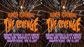 3D Video Halloween Haunted House