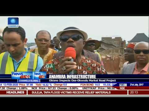 Anambra Infrastructure: Obiano Tours More Intervention Projects