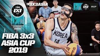 South Korea v India | Men's Full Game | FIBA 3x3 Asia Cup 2019