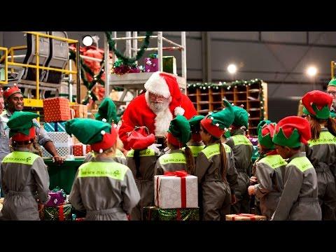 Santa's Workshop - Air New Zealand Christmas Surprise