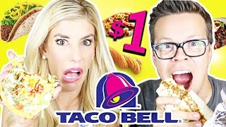 Video Trying Taco Bell's Dollar Menu download MP3, 3GP, MP4, WEBM, AVI, FLV Juli 2018
