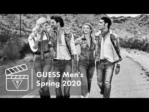 Behind The Scenes: GUESS Men's Spring 2020 Campaign